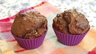 Mineral-rich Banana Chocolate Cupcakes