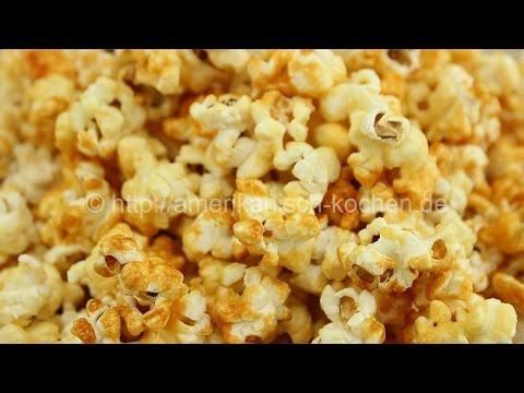 Karamell Popcorn wie im Kino / Caramel Popcorn / Caramel Corn