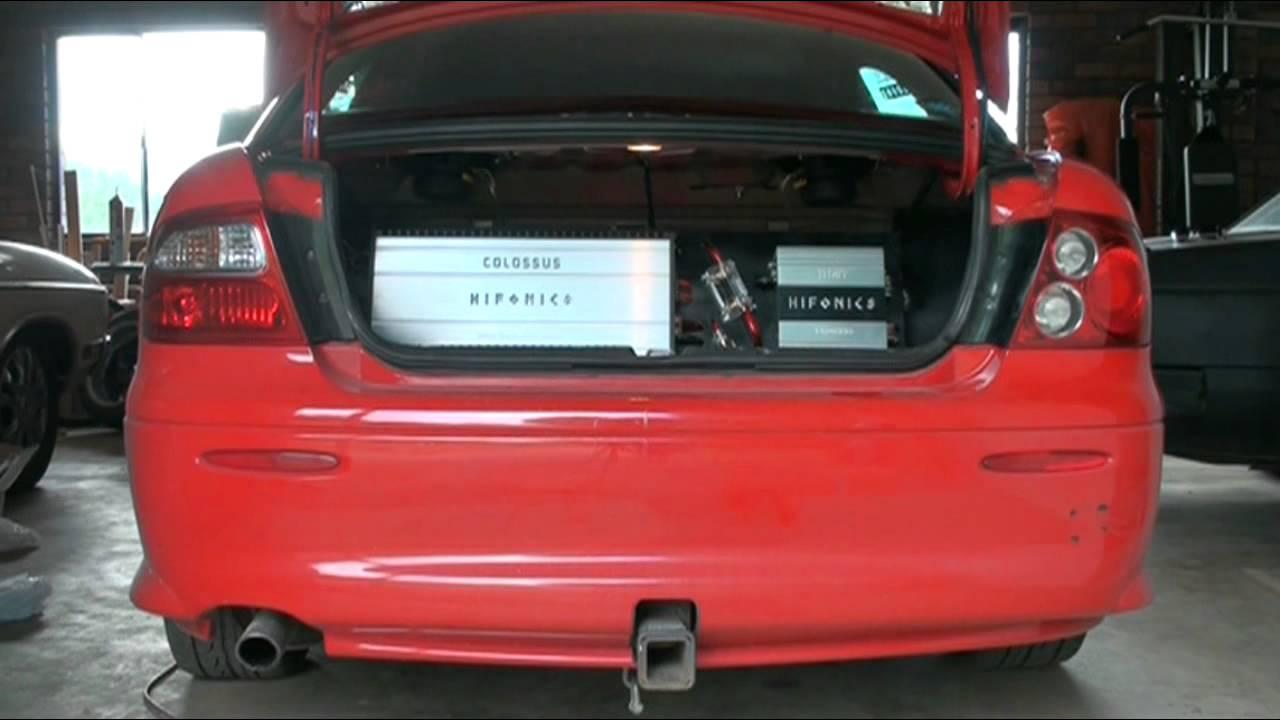 How To Install Vy Monaro Lights On Vx Holden Commodore S Youtube Vz Fog Light Wiring Diagram
