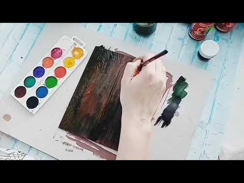 """Мк по обложке в технике микс медиа для сп """"Альбом мечты"""" от Art-studia Zolushka"""