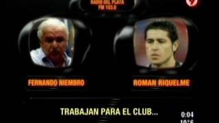 TVR - Riquelme desenmascaró a Niembro 24-07-10