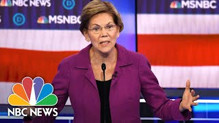 Elizabeth Warren: 'We Are All Responsible For Our Supporters' | NBC News