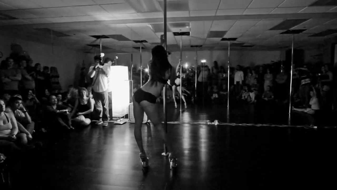 Jamie Pole Dance Performance ~ Bad - YouTube