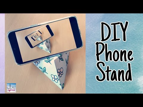 DIY Phone Stand | Easy Step-By-Step  Phone Stand Tutorial