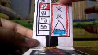 Shikenger shodophone papercraft