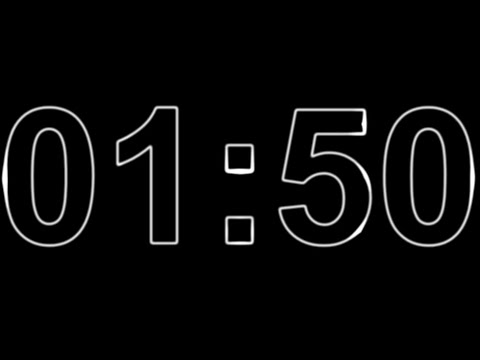 1 Minute and 50 Second Timer ⏰🔔 1 Minute and 50 Second Timer Countdown with Music