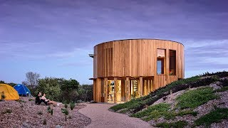 St Andrews Beach House - A Two Storey Circular Holiday Home In Australia