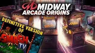 Midway Arcade Origins - First Impressions Review - Game Collection Backlog - BEST SMASH TV!