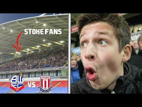 "BOLTON vs STOKE vlog - ""GARY ROWETT, YOUR FOOTBALL IS SH*T"""