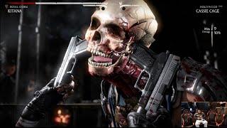 Mortal Kombat X PS4 Exclusive Gameplay! ALL X-RAY MOVES! CRAZIEST MINI CUT SCENES YET!