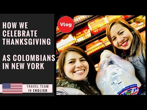 How we celebrate THANKSGIVING as Colombians in New York. By: TRAVEL TEAM Channel