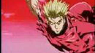 Vash vs Knives final fight hyper speed