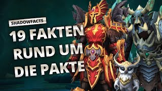 Shadowfacts - 19 Fakten über die Pakte | World of Warcraft
