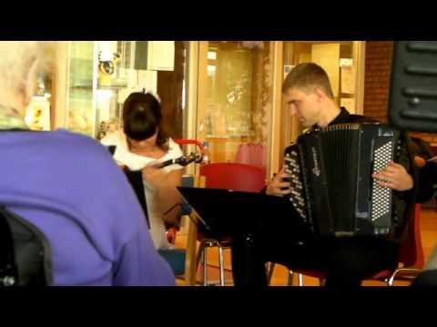 Russiske musikere på Vadsø helsesenter. 28 Oktober 2011