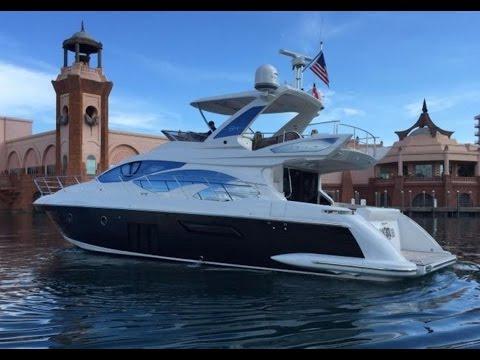 2015 Azimut 54 Flybridge Yacht For Sale at MarineMax Pompano Yacht Center
