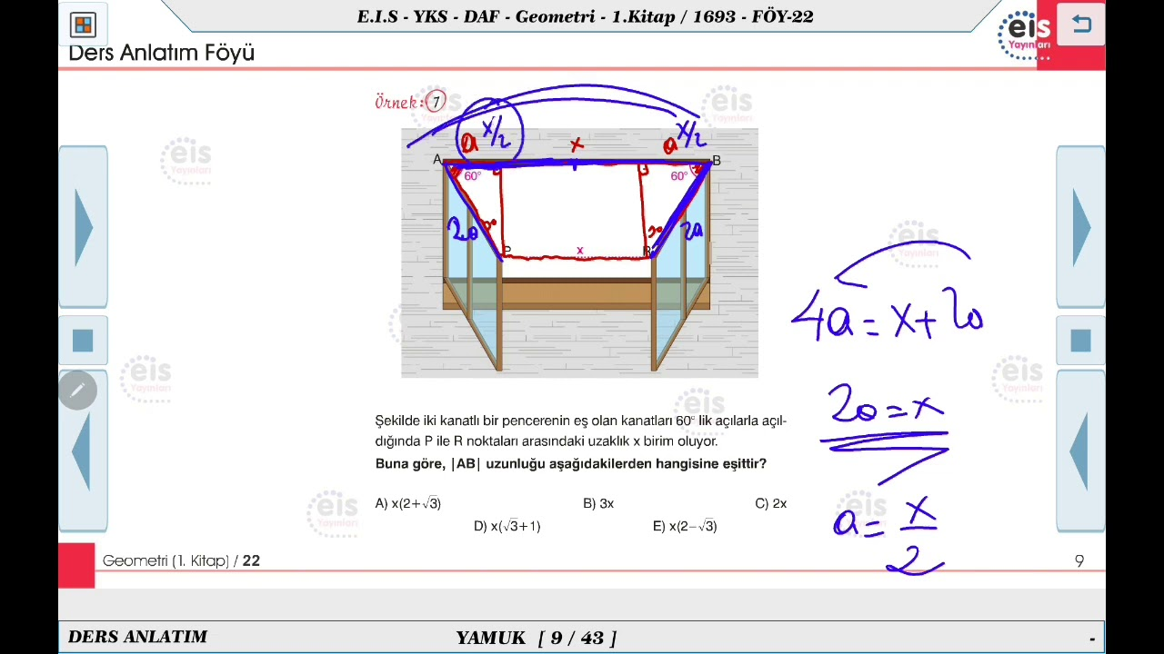 Geometri 1 - Yamuk 2  ⏳