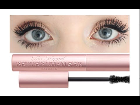 Too Faced Better Than Sex Mascara   Demo & Review