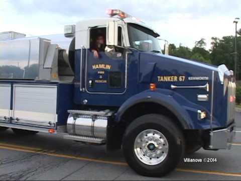 2014 Covington,pa Fire Company Carnival Parade