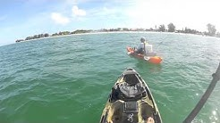 Kayak Tarpon Fishing in Anna Maria Island, FL (85lb.)