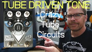 Real Tube Overdrive Tones | Crazy Tube Circuits Space Charged V2 Overdrive.