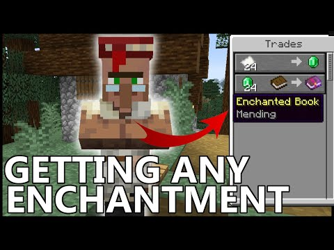 How To Get ANY ENCHANTMENT In Minecraft