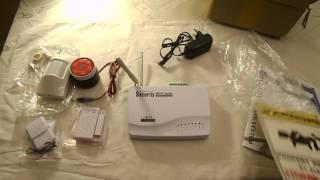 Gsm sms охранная сигнализация security(Беспроводная GSM охранная сигнализация с двойной антенной для дома/гаража/складов/магазинов. Комплект состо..., 2017-01-06T19:14:08.000Z)