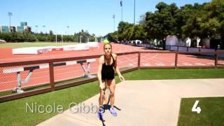 Nicole Gibbs   WTA Frame Challenge