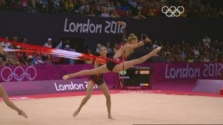 Russian Federation Win Group All-Around Gymnastics Gold - London 2012 Olympics