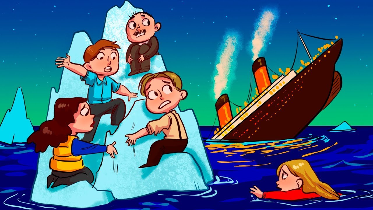 Why People on the Titanic Didn't Just Climb the Iceberg