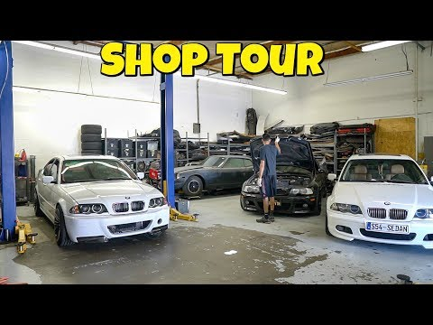SHOP TOUR - Tips About Owning An Auto Repair Shop
