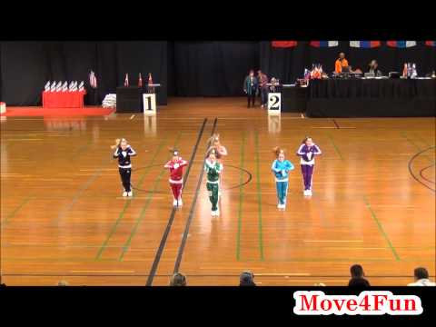 World Champion 2013 HipHop Small group Move4Fun -12 years final