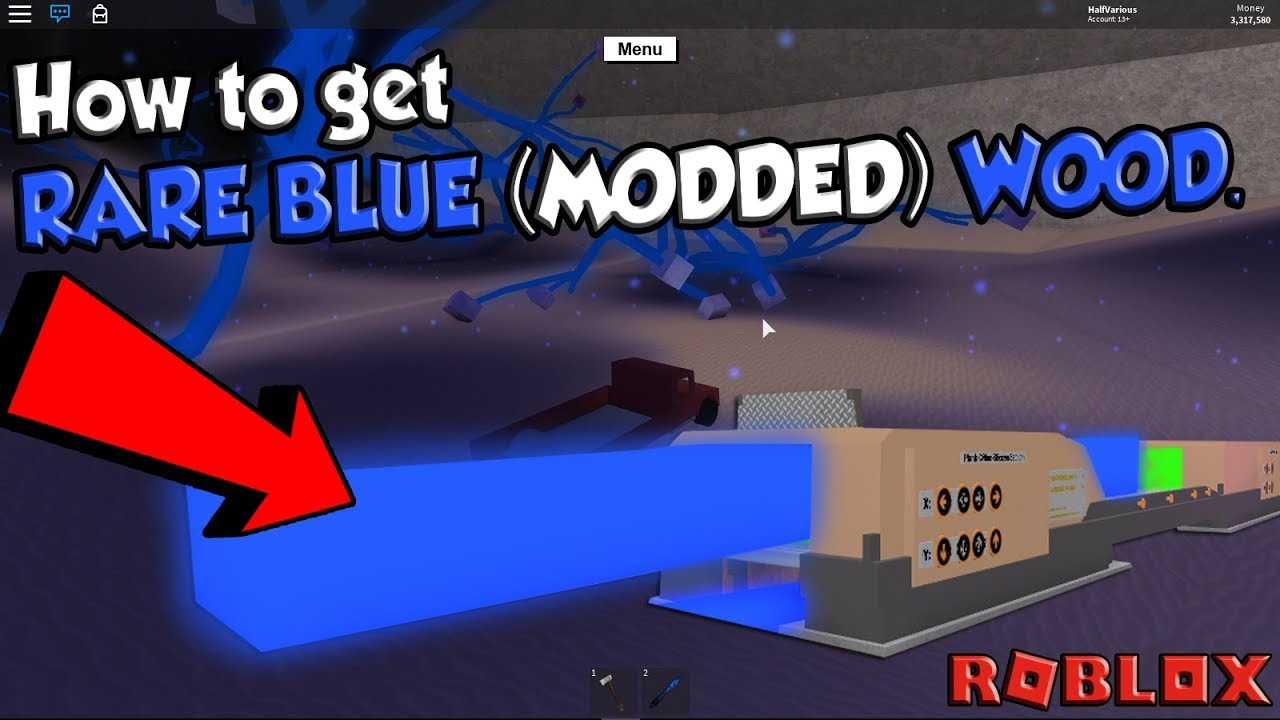 how to get blue wood roblox lumber tycoon