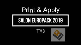 Salon Europack 2019 Print & Apply by La Rochelle Innovation