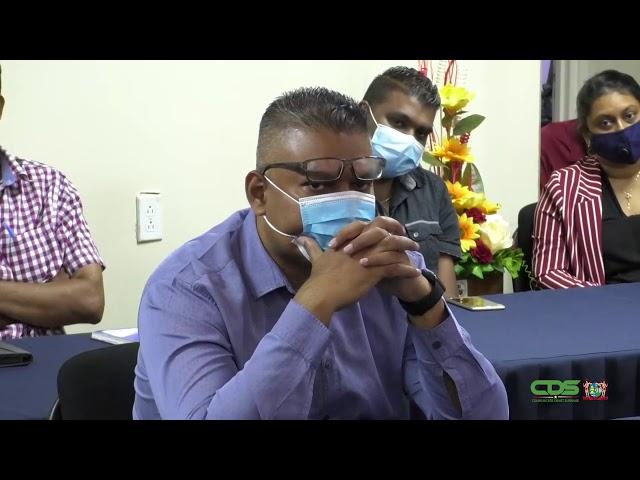 MINISTER NURMOHAMED OVER INDIENING RAPPORTEN AAN CLAD EN PG