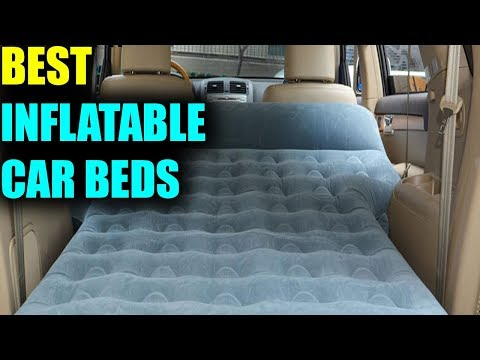 Best Inflatable Car Bed - Best Portable Inflatable Car Mattress 2019