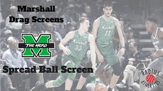 Marshall Thundering Herd - Spread Ball Screen Offense