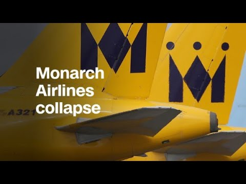Monarch collapses, leaving passengers stranded and angry