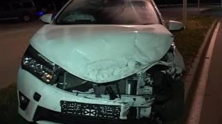 Гонки двух авто закончились ДТП на острове Русский