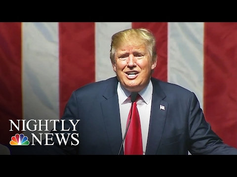 Donald Trump Hurls Vulgar Attack on Hillary Clinton | NBC Nightly News
