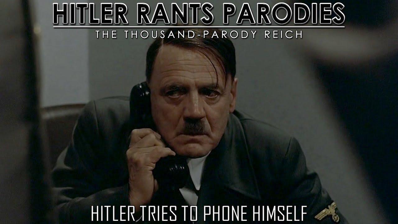 Hitler tries to phone himself