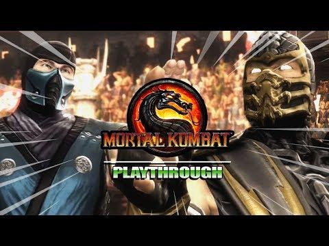 FINAL SHOWDOWN...SCORPION V SUBZERO : Story Mode - Mortal Kombat 9 (Part 5) thumbnail