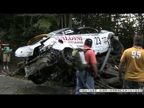 Crash Renault Megane 8^ Ronde della Val d'Aveto