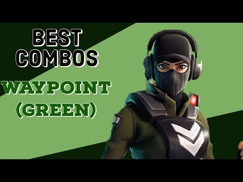 Best Combos | Waypoint (Green) | Fortnite Skin Review