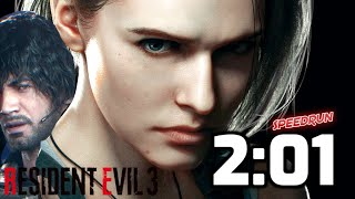 RESIDENT EVIL 3 NEMESIS REMAKE FULL DEMO {2:01} SPEEDRUN IN 2 MINUTES  [RE3 NEMESIS PS4 PRO]