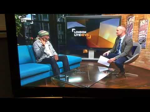 Ray Shell on London Live TV on directing GILGAMESH at the White Bear Theatre