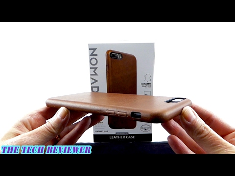 Better than the Apple Leather Case? Nomad Leather Case for iPhone 7 Plus!