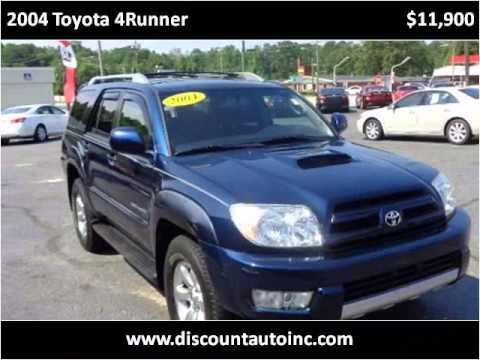 2004 Toyota 4Runner Used Cars Greenville NC - YouTube