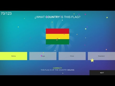 Let's do a one-off of; Flagster - Guess that flag's country