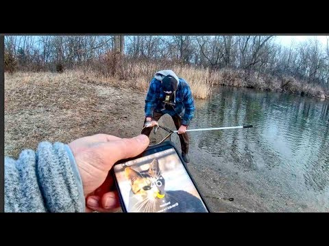Michigan Trout FISHING At SPRING MILL POND( Please Adhere To The Site Specific POSTED RULES)