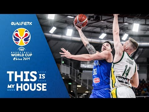 Italy v Lithuania - Full Game - FIBA Basketball World Cup 2019 - European Qualifiers